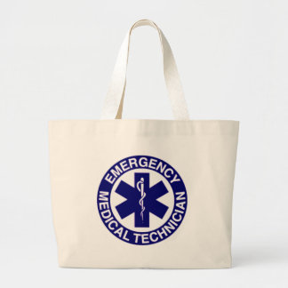 EMERGENCY MEDICAL TECHNICIANS EMT LARGE TOTE BAG