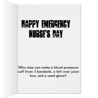 Emergency Nurse's Day card