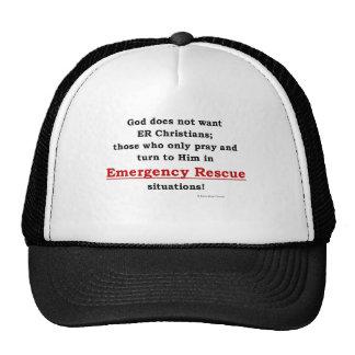 emergency rescue mesh hat