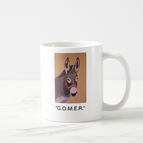 EMERGENCY ROOM DONKEY COFFEE MUG