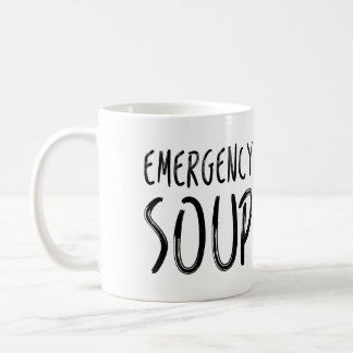 Emergency Soup Get Well Soon Mug