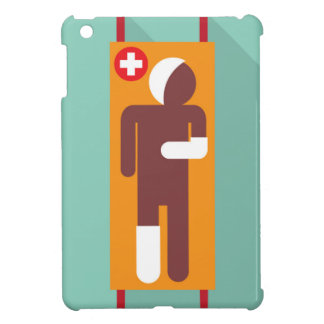 Emergency stretcher Vector Illustration iPad Mini Cases