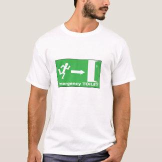 Emergency Toilet t-shirt