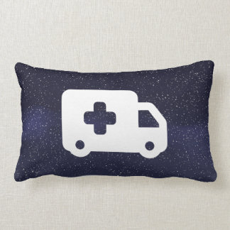 Emergency Vehicles Minimal Lumbar Pillow