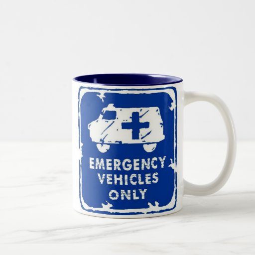 Emergency Vehicles Only Coffee Mugs