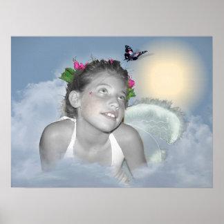Emerging Angel - Print