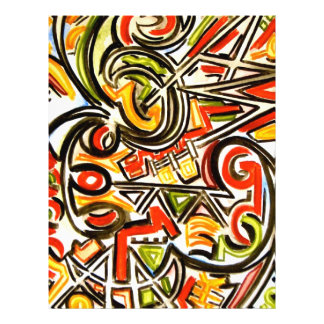 Emerging Butterfly - Abstract Art 21.5 Cm X 28 Cm Flyer