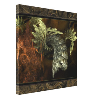 Emerging Fractal Wall Art Gallery Wrapped Canvas