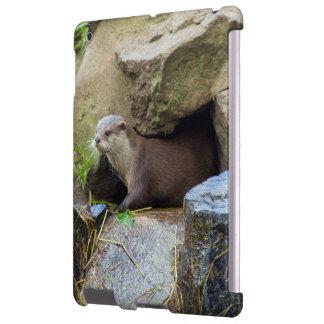 Emerging otter iPad case