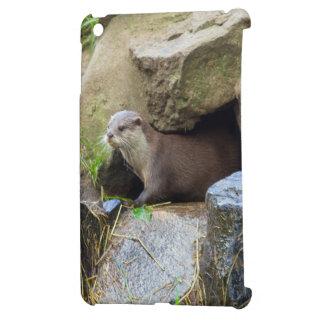 Emerging otter iPad mini case