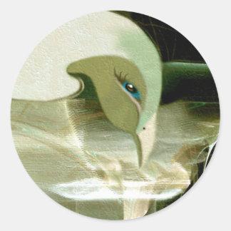 Emerging Round Sticker