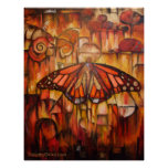 Emerging Wings of Autumn - Canvas Print