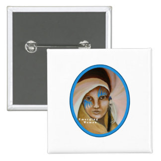 Emerging Woman 15 Cm Square Badge