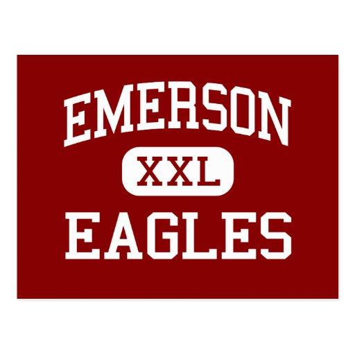 Emerson - Eagles - Vocational - Buffalo New York Postcard