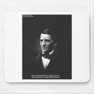 Emerson Love Never Possessed Quote Gifts Etc Mouse Pads
