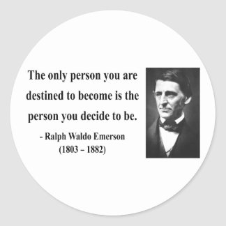 Emerson Quote 1b Stickers
