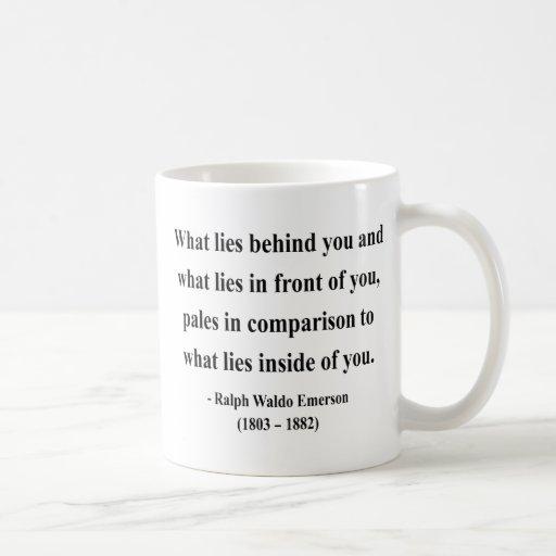 Emerson Quote 2a Coffee Mugs