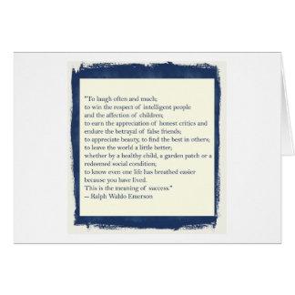 Emerson Quote Card