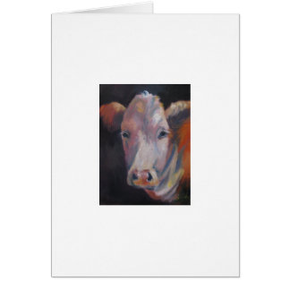 Emie Sue the cow Card