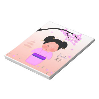 "Emiko (5.5"" x 6"") Notepad - 40 pages"