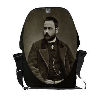 Emile Zola (1840-1902) from 'Galerie Contemporaine Messenger Bags