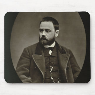 Emile Zola (1840-1902) from 'Galerie Contemporaine Mouse Mat