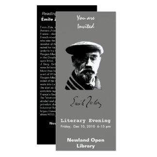 Emile Zola Card