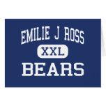 Emilie J Ross Bears Middle Hughson Greeting Card
