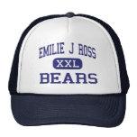 Emilie J Ross Bears Middle Hughson Hat