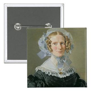 Emilie Kessel  1839 15 Cm Square Badge