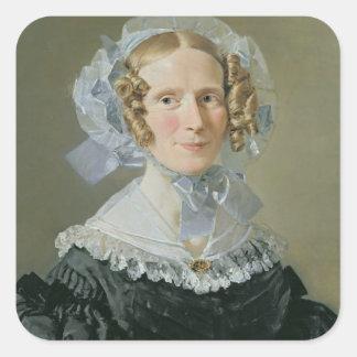 Emilie Kessel  1839 Square Sticker