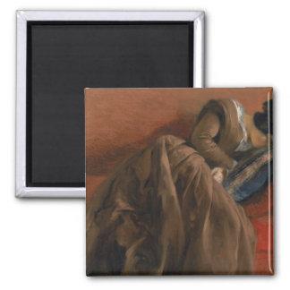 Emilie, the Artist's Sister, Asleep Magnet