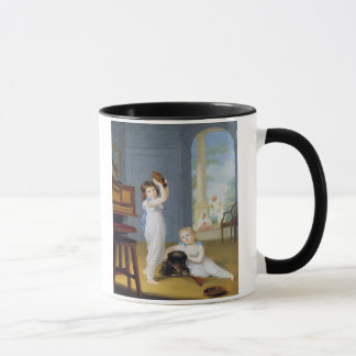 Emily and George Mason, c.1794-95 (oil on canvas) Mug