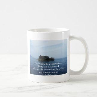 Emily Dickenson Inspirational  QUOTE for Healing Coffee Mug