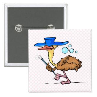Emily Emu 15 Cm Square Badge