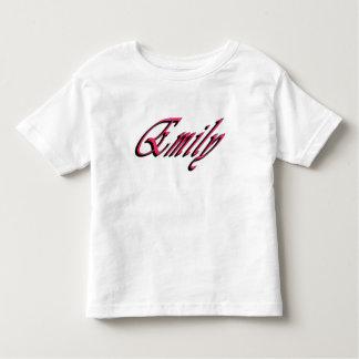Emily Girls Name Logo, Toddler T-Shirt