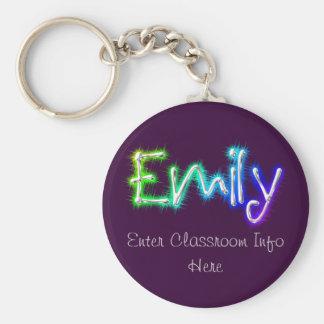 Emily ID Keychain
