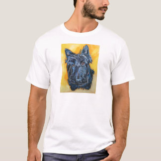 'Emily in Blue' Scottie Art T-Shirt