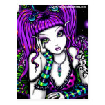 Emily Rainbow Celestial Tattoo Faery Postcard