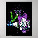 Emily Rainbow Crystal Ball Fairy Poster