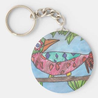 Emily s Bird jpeg Key Chain