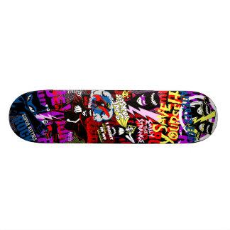 Emily the Strange Be Your Own Hero Custom Skateboard