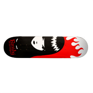 Emily the Strange Board To Death Custom Skateboard
