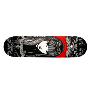 Emily the Strange Crest 21.3 Cm Mini Skateboard Deck