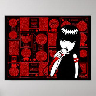 Emily the Strange: Emily VOX Poster