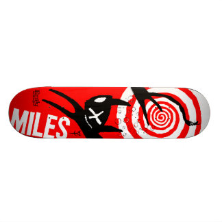 Emily the Strange Miles 20.6 Cm Skateboard Deck