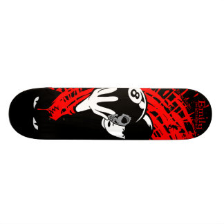 Emily the Strange No Future Skate Board Deck