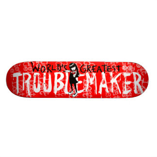 Emily the Strange Troublemaker Skateboards