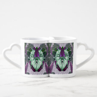 Eminece Magnolia Parrots Coffee Mug Set