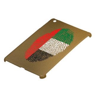 Emirate touch fingerprint flag case for the iPad mini